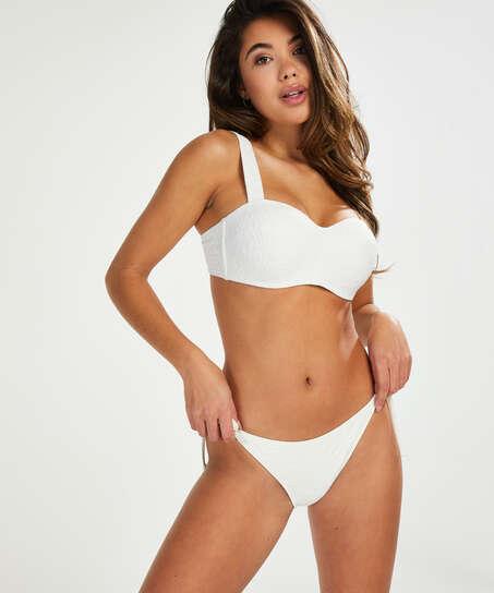 Libby Rio bikini bottoms, White