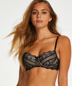 Sierra padded underwired bra, Black