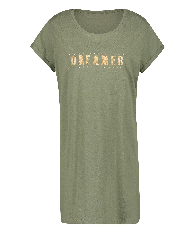 Dreamer nightshirt, Green, main