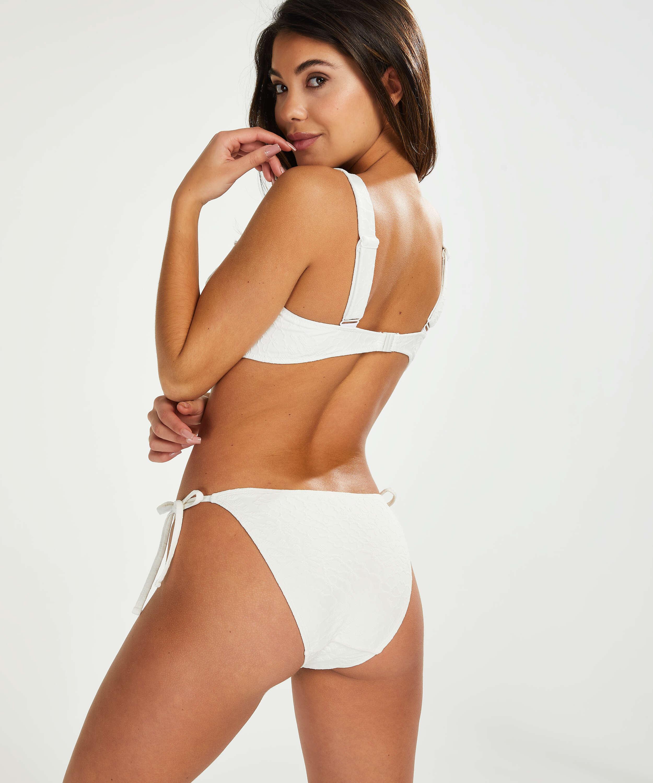 Libby Rio bikini bottoms, White, main