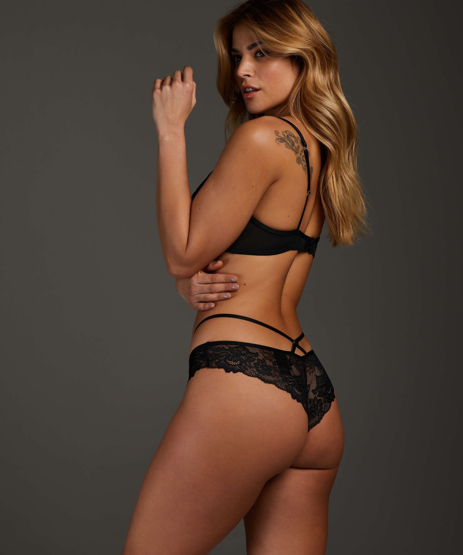 Sosha Brazilian with open crotch, Black, main
