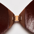 Adhesive bra, Brown