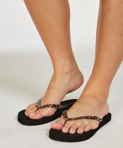 Fancy flip-flops, Black