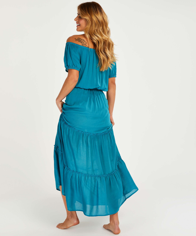 Paramaribo maxi beach dress I AM Danielle, Grey, main
