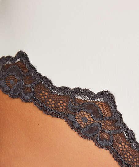 Secret lace boxer, White