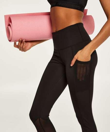 HKMX Oh My Squat High Waisted Leggings , Black