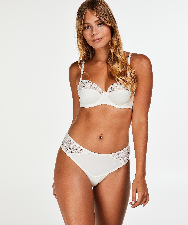 Sophie Thong Short, White, main