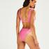 Vintage High-cut Rio bikini bottoms HKM x NA-KD, Pink