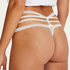 Lorraine Extra Low-rise Thong, White