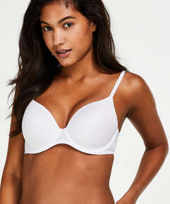 Super Soft Padded Underwired Bra, White