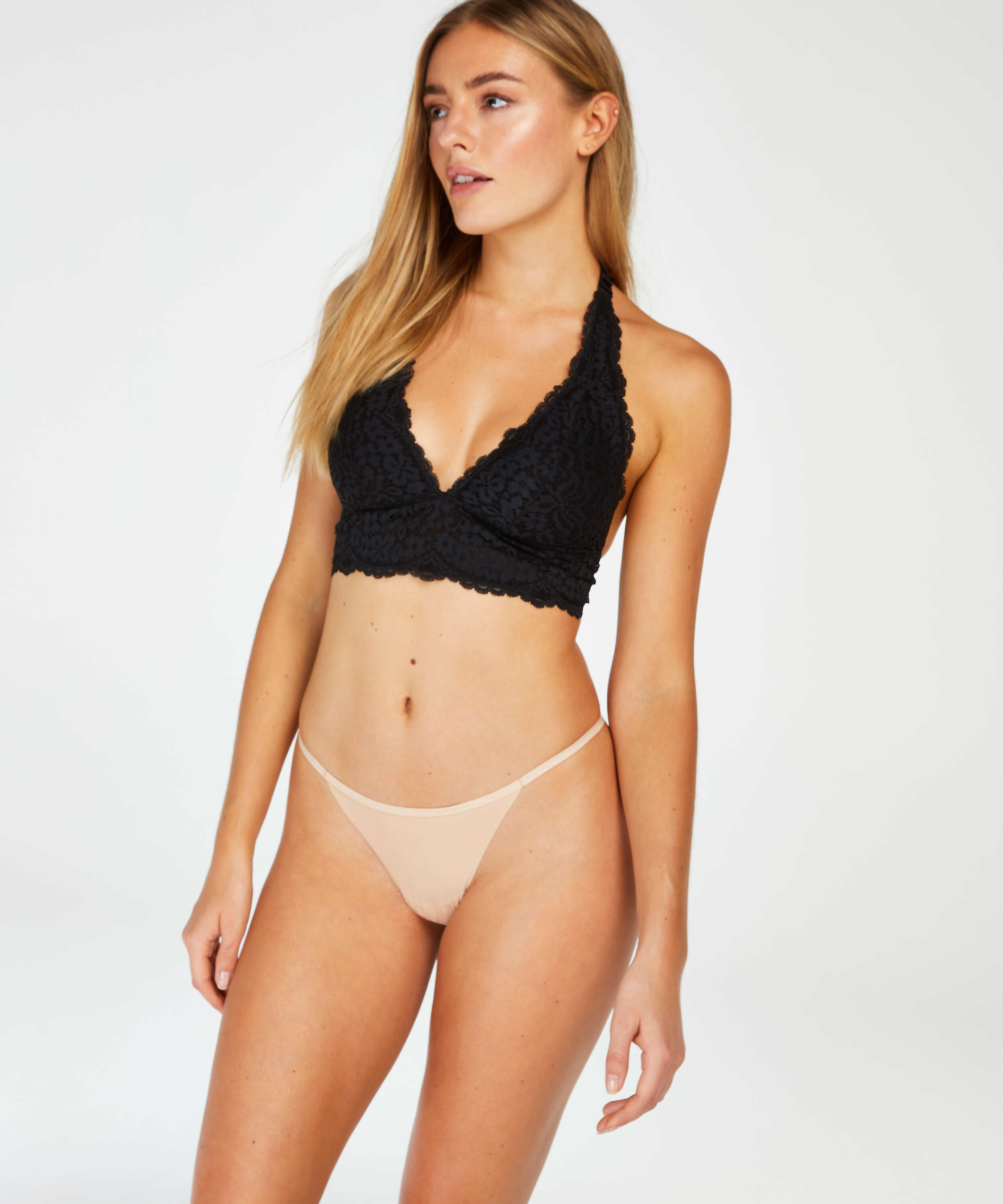 Micro Invisible T-String , Beige, main