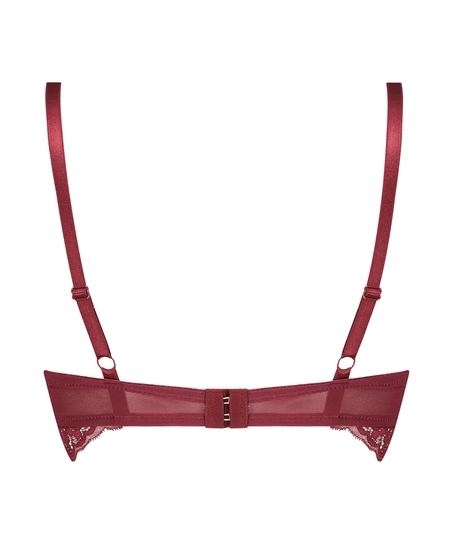 Tia Padded Non-Wired Bra, Red