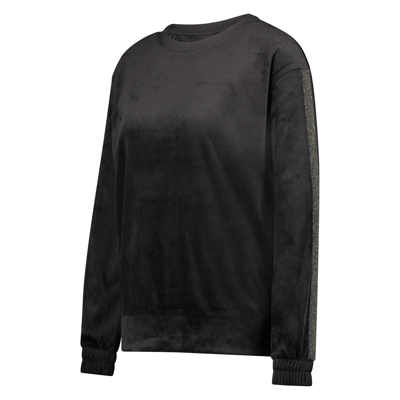 Velvet Shimmer top, Black, main