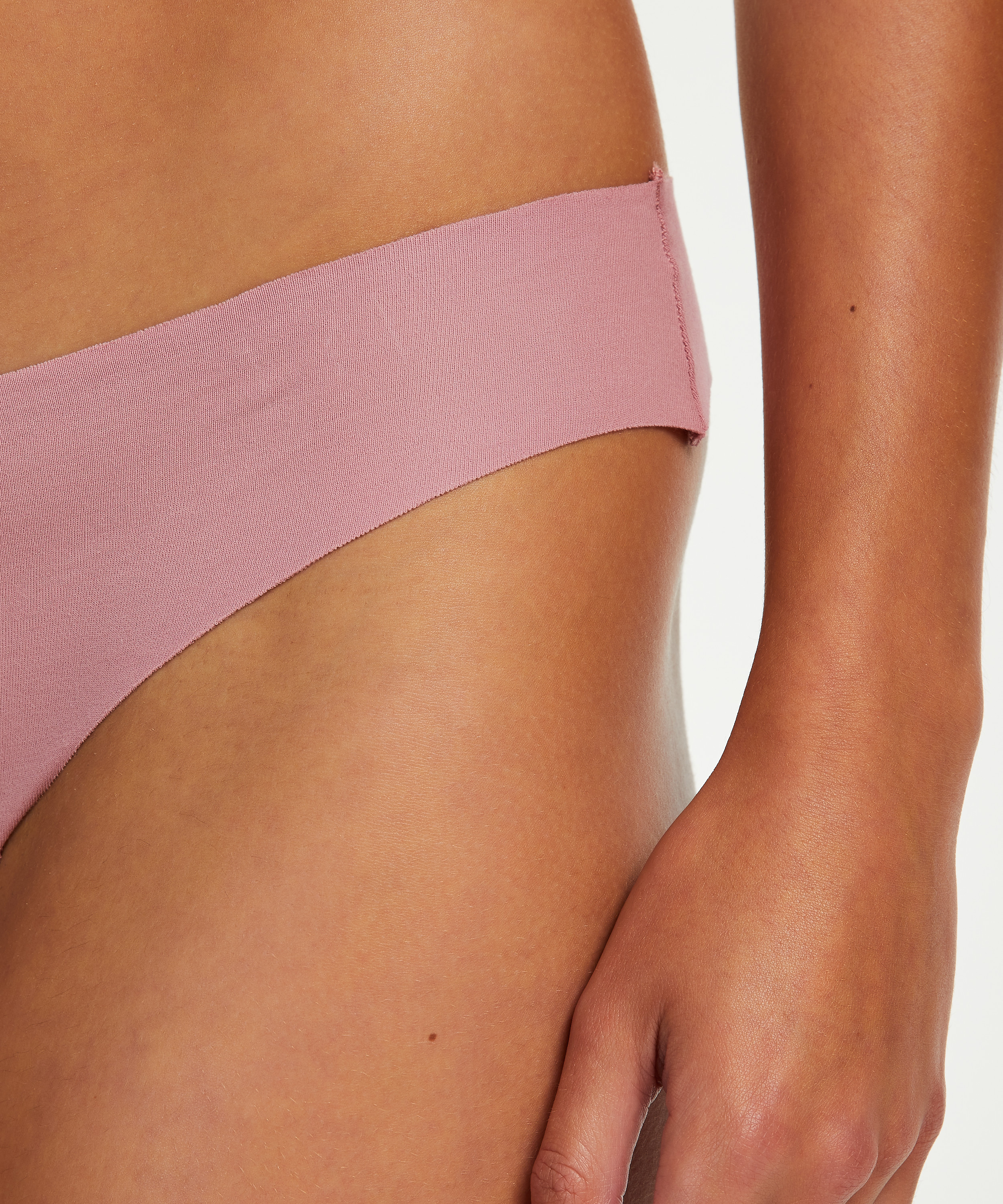 Invisible cotton thong, Purple, main