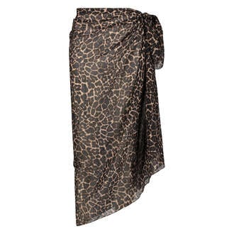 Leopard Pareo, Black