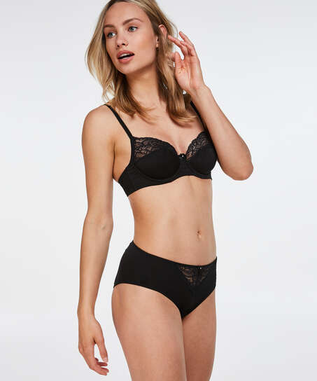 Sophie high knickers, Black