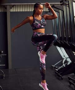 HKMX high waisted sport leggings, Black