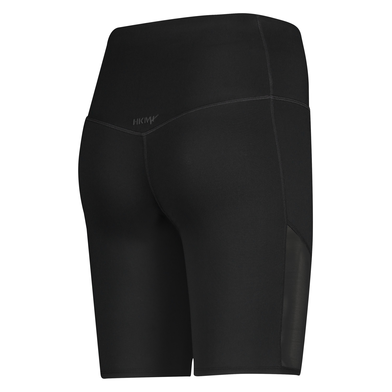 HKMX high waisted bike shorts level 3, Black, main