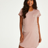 Short-Sleeved Maternity Nightshirt, Pink
