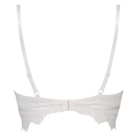 Marilee Padded Underwired Longline Bra, White