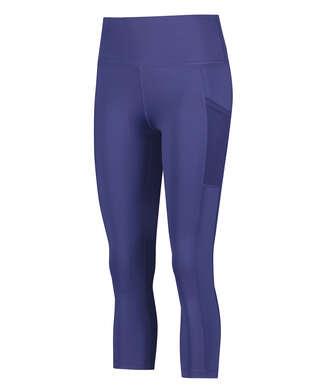 HKMX Oh My Squat High Waisted Capri, Blue