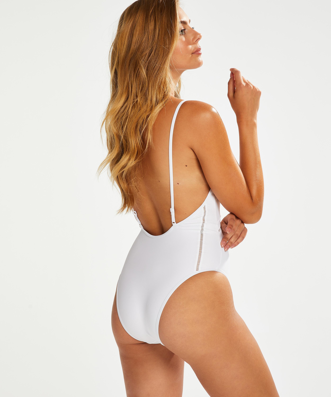 Maldives Swimsuit, White, main