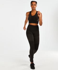 HKMX Sports bra The Motion Level 2, Black
