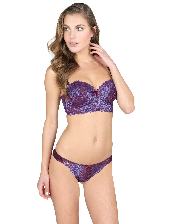Bijoux thong, Purple, main