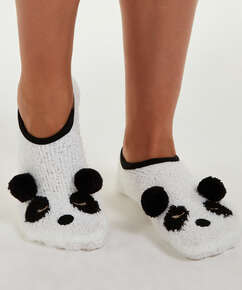 Panda slippers, Yellow