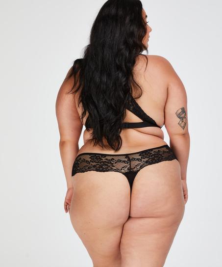 Bianca Boxer Thong, Black