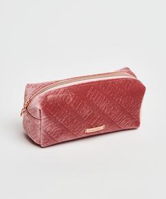 Velvet Make-Up Bag, Pink