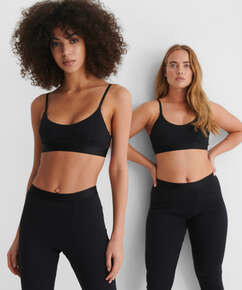 High waisted sport legging Zia HKM x NA-KD, Black