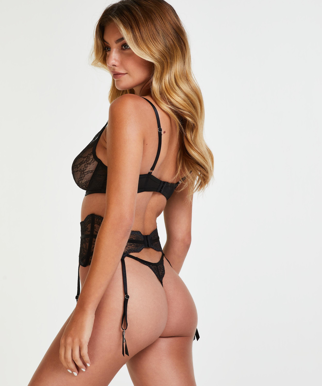 Isabelle Suspenders, Black, main