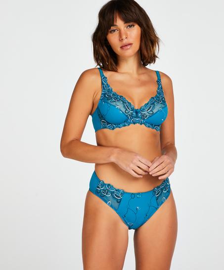 Diva Non-Padded Underwired Bra, Blue