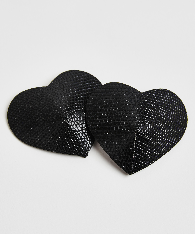 Nipple covers Private Snake, Black, main