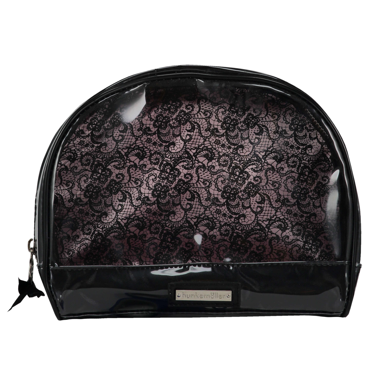 Make-Up Bag, Black, main