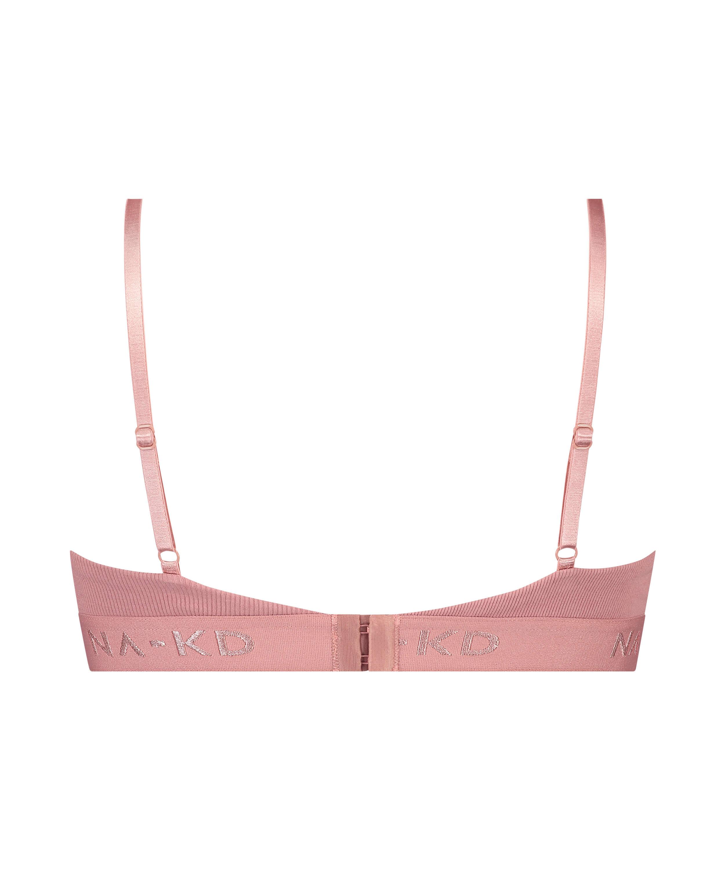 Bralette Amailia HKM x NA-KD, Pink, main