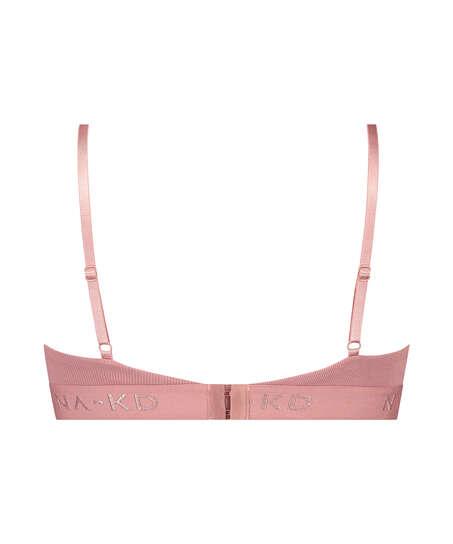 Bralette Amailia HKM x NA-KD, Pink