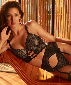 Oceana Suspenders Rebecca Mir, Black