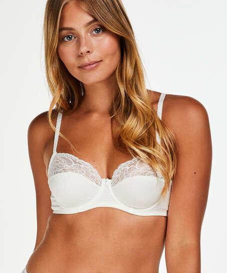 Sophie Non-Padded Underwired Bra, White