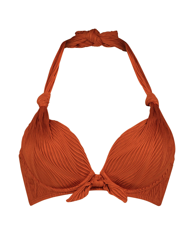 Galibi padded push-up underwired bikini top I AM Danielle Cup A - E, Orange, main