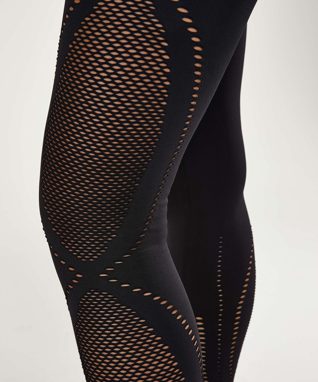 HKMX High Waist Seamless Sportlegging Comfort, Black, main
