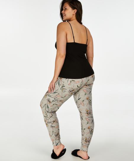 Jersey Pyjama Pants, Grey
