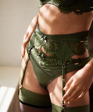 Hannako suspenders, Green
