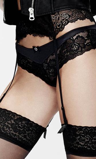 Suspenders, Black