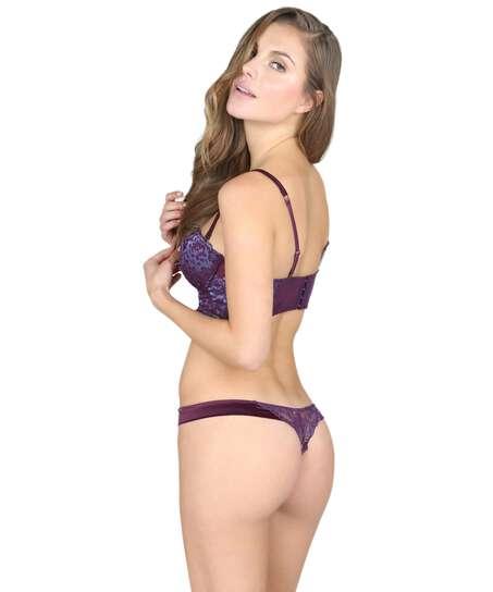 Bijoux thong, Purple