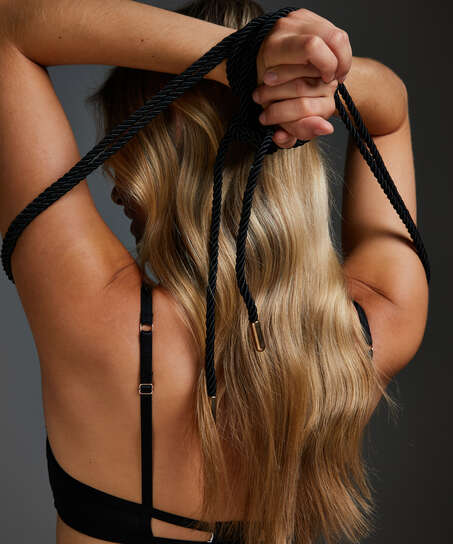 Body Bondage rope, Black