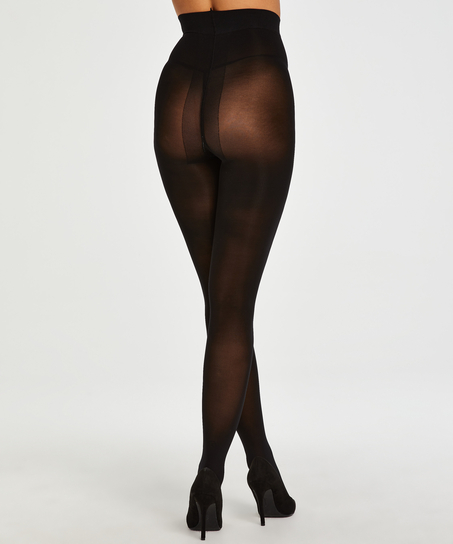 Compression 40 denier tights, Black