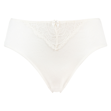 Sophie high knickers, White