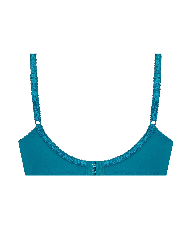 Diva Non-Padded Underwired Bra, Blue, main